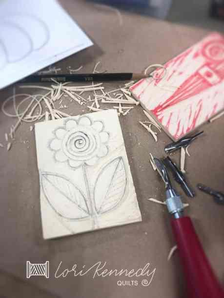 Block Printing doodles