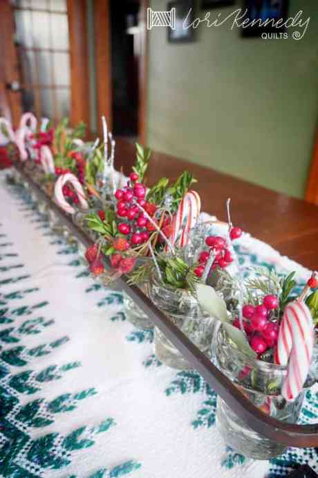 Creative Christmas Table decoration