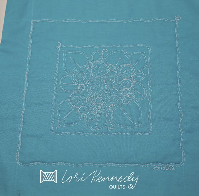 Make a Posy Medallion Quilt