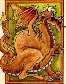 Dragon - ABKBD98 $4