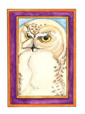 Snowy Owl - GB06 $4