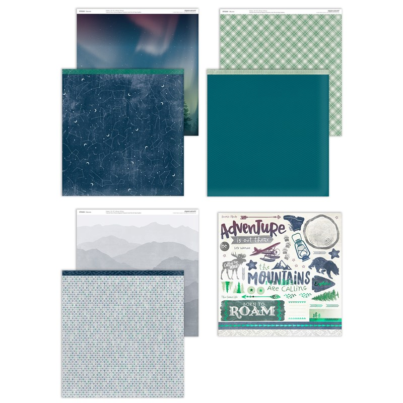 Aurora Paper Pack