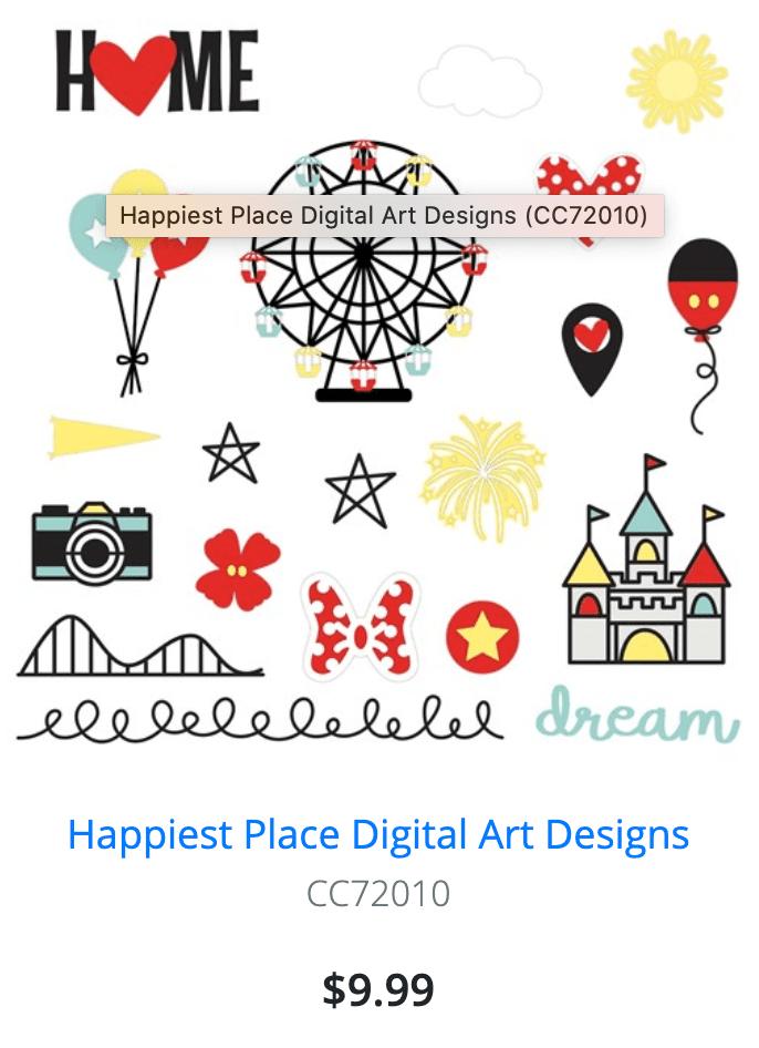 Digital Art - Happiest Place