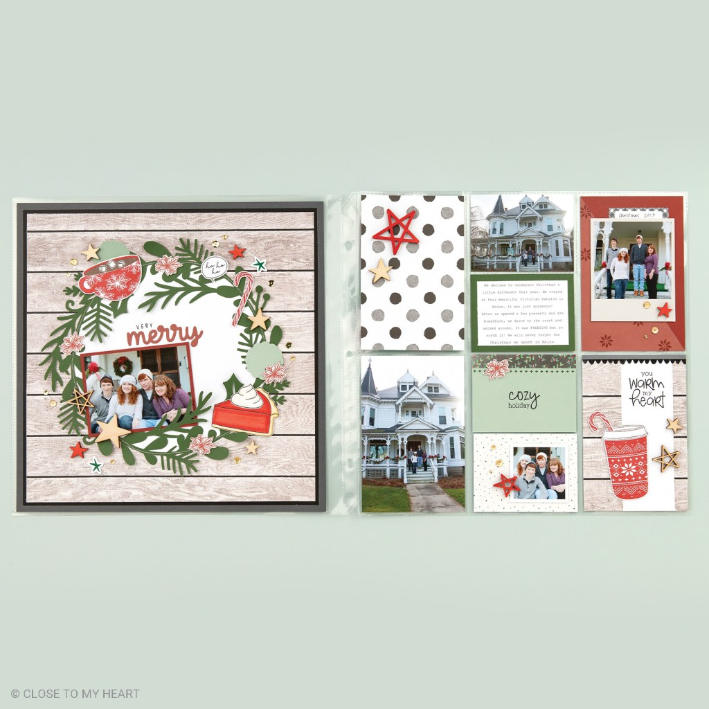 Layouts - Stamp of the Month