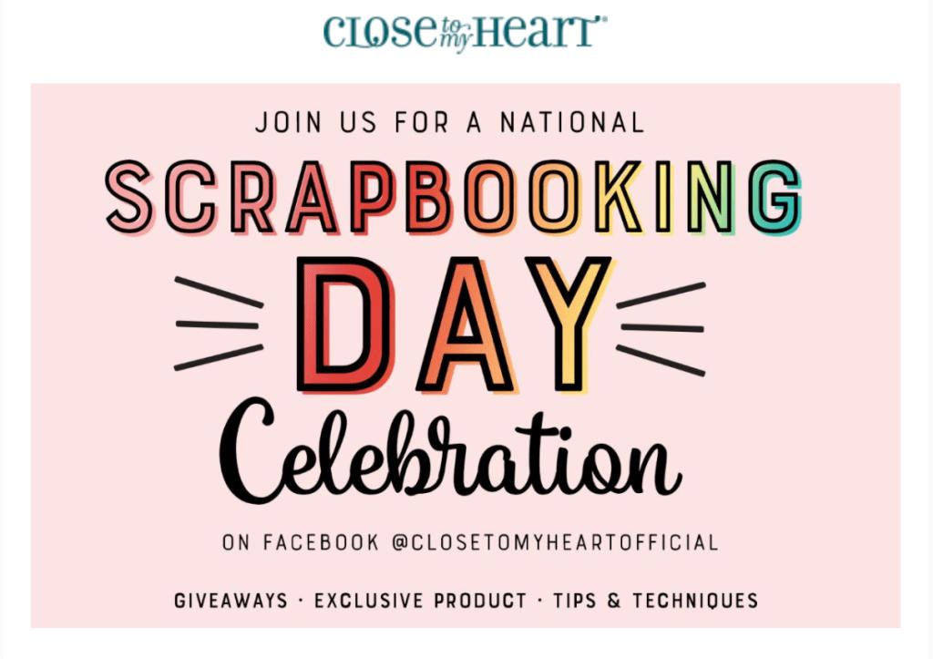 National Scrapbook Day