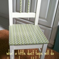 Tweak it with Duct Tape. a child's chair transformed