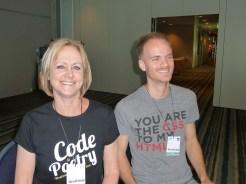 Karen and John - geeks to the core