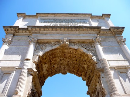 Arch Inside the Forum