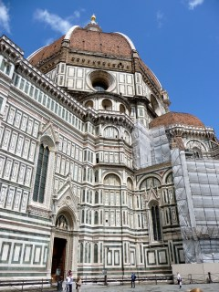 Rear view of the Duomo