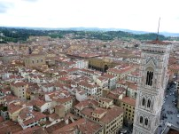 City view from the top of the Duomo