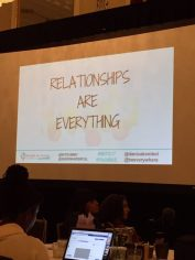 Relationships are everything!