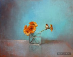 ©2015 Lori McNee A Bit of Summer 16x20 Oil on linen