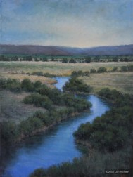 ©Lori McNee Springtime Silver Creek 48x36 Oil on canvas
