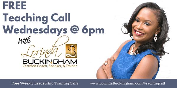 Free Teaching Calls with Lorinda Buckingham
