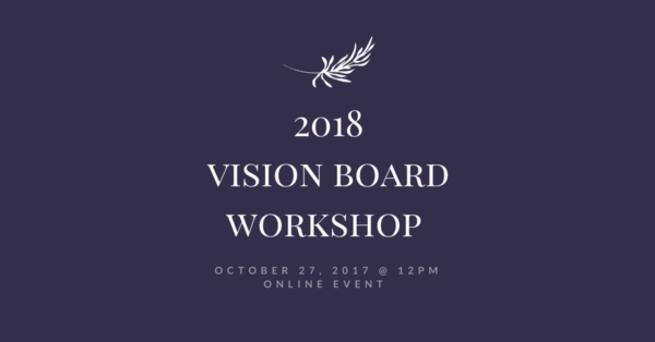 2018 Vision Board Workshop with Lorinda Buckingham