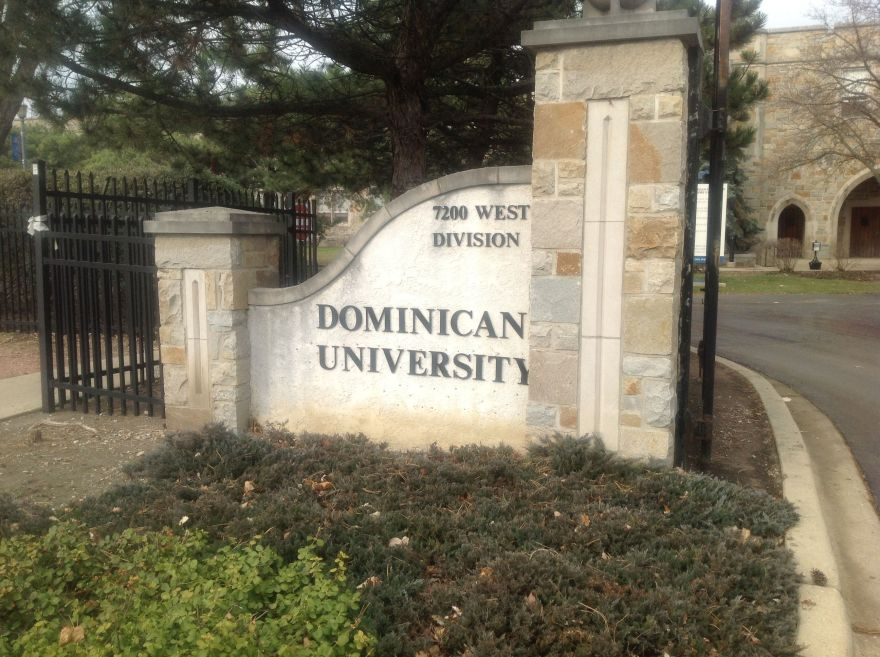 Graduated from Dominican University