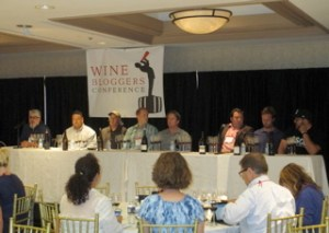 Panel on Ballard Canyon Syrahs at the 2014 Wine Bloggers Conference