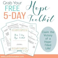 Claiming the Victory of a Hope-Filled Life