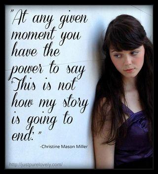 """At any given moment…"""