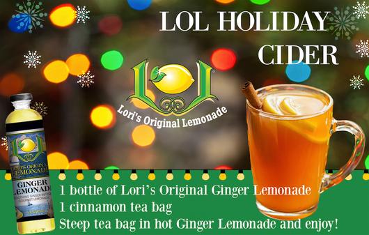 loris original lemonade holiday chher