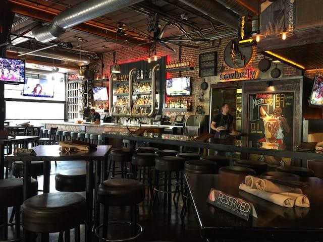 bar in the Gaslamp, San Diego