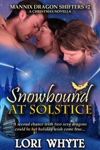 Snowbound at Solstice: Mannix Dragon Shifters #2 A Christmas novella (Holly, Ryder and Garryck's Story) - December 9, 2015 This novella was first released in the Sugar, Spice and Shifters box set.