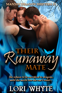 Their Runaway Mate: Mannix Dragon Shifters #1 (Jasmine, Kylan and Dillon's Story) - October 20, 2015 Mannix Dragon Shifters Series #1