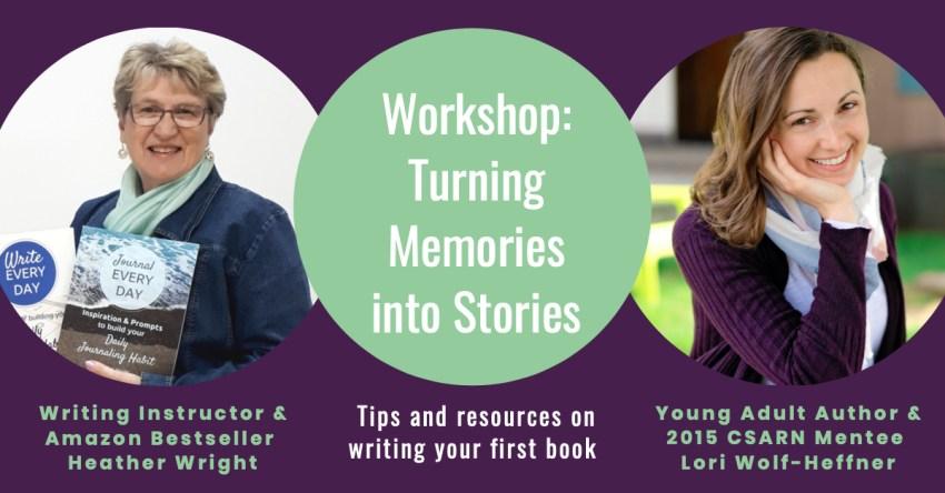 Headshots of writers Heather Wright and Lori Wolf-Heffner