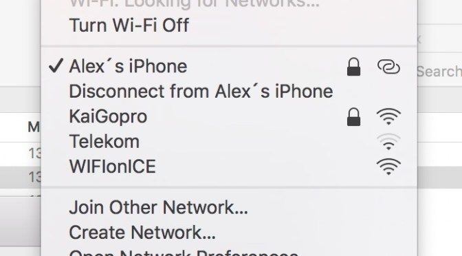 Having trouble connecting to your iPhone´s Personal Hotspot?