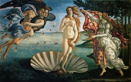 Botticelli's babely Venus.