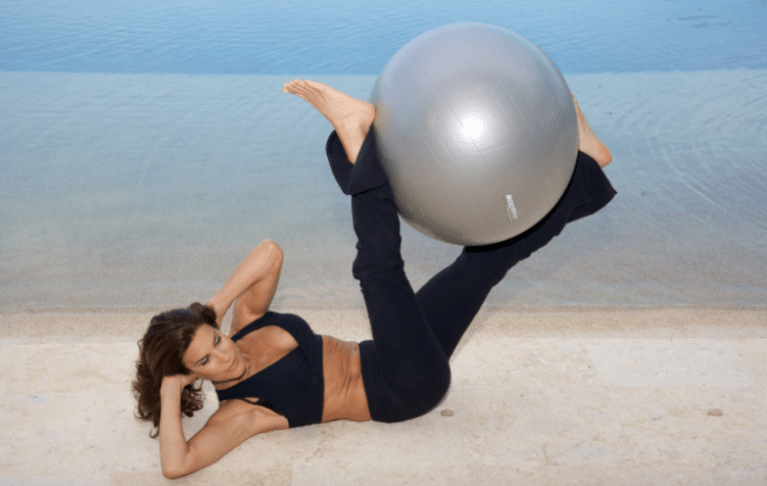 Haley Borden Yoga Ball