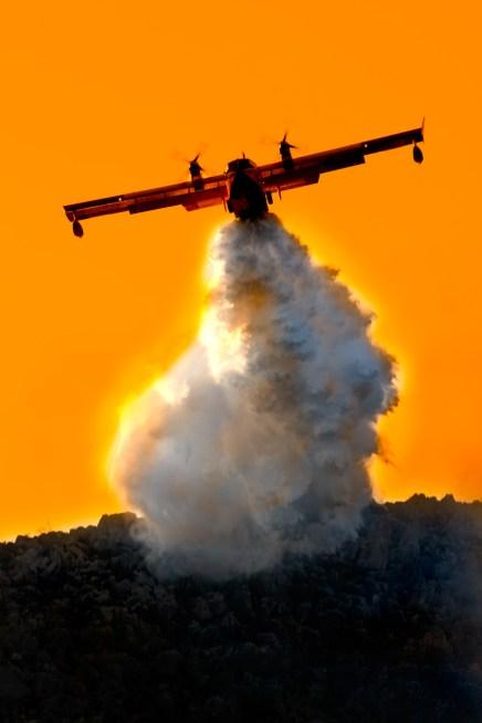 Incendio di Pizzo Sella e Monte Gallo