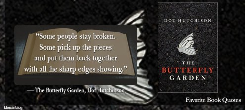 Favorite Book Quote  11     Klorrie Notes butterfly garden 5