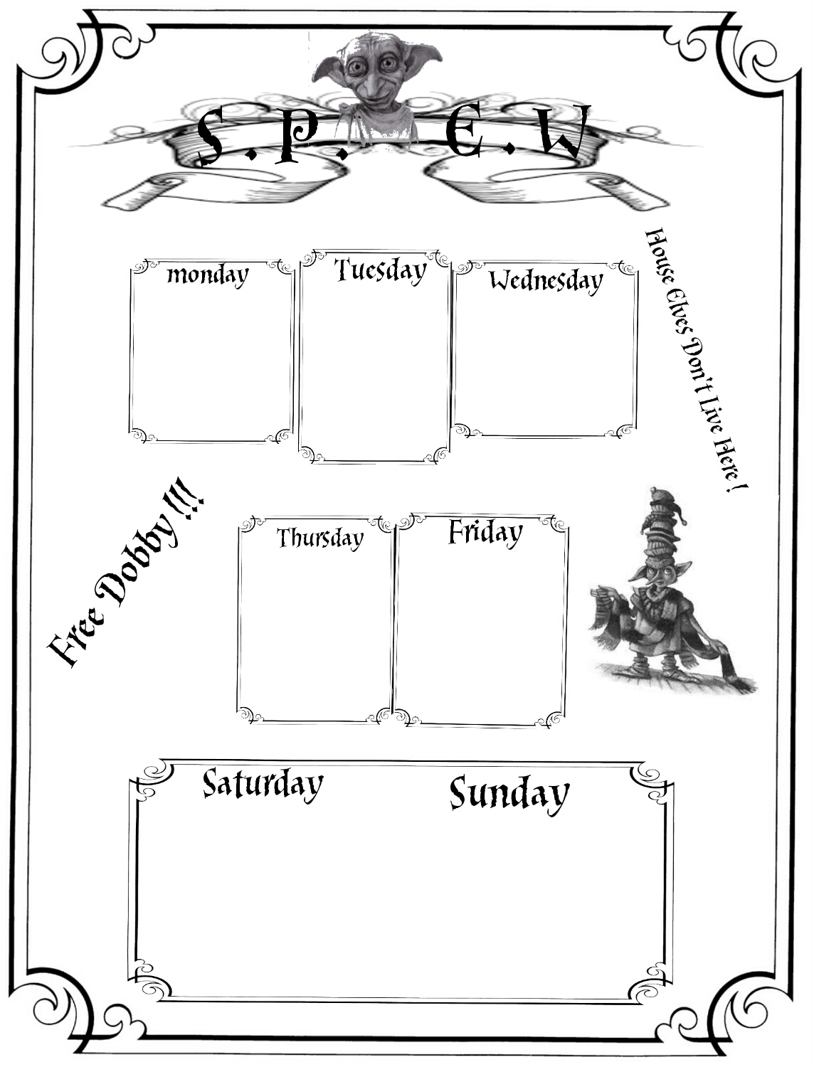 Harry Potter Planner Printables Free Lorraine A Life