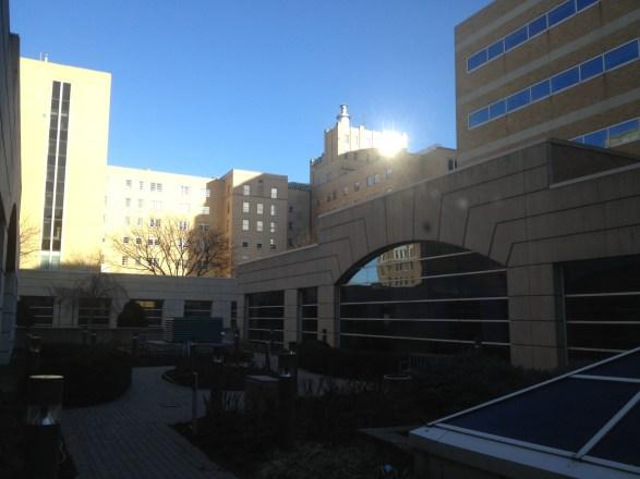 Courtyard at Methodist Hospital