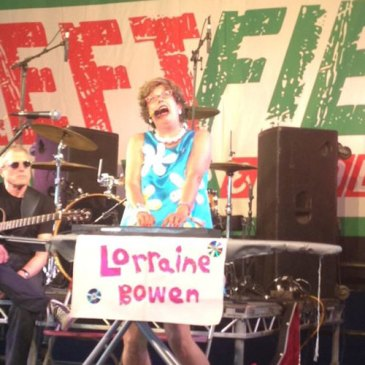 Lorraine Bowen @ Glastonbury