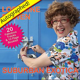 Suburban Exotica CD (2010) – Autographed!