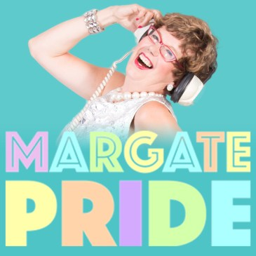Lorraine Bowen at Margate Pride