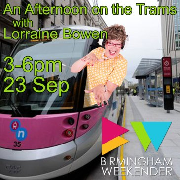 An Afternoon on the Trams with Lorraine Bowen