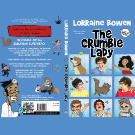 The Crumble Lady- Book (direct from CandyJar Publishers)