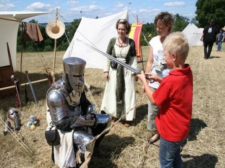 Der Ritter für Kinder