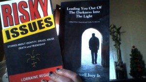 proof copies of my book and Max's book