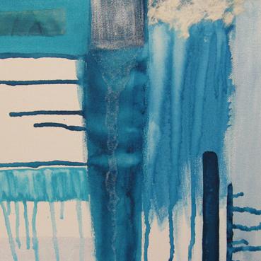 """Turquoise wonder 12"""" x 12"""" mixed media"""