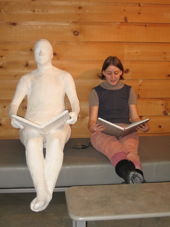 model and sculpture