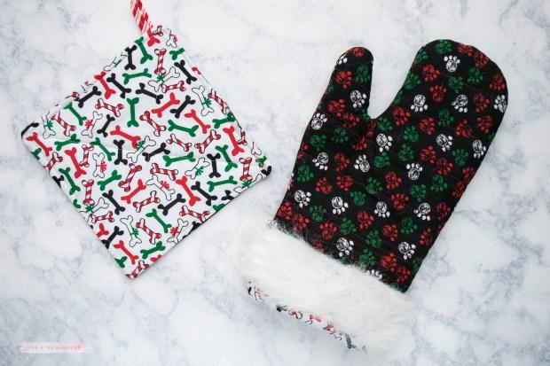 Christmas oven mitt-2