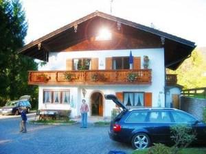 Ferienhaus mit Watzmannblick