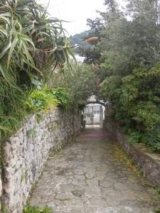 Der Weg zur Villa Calypso