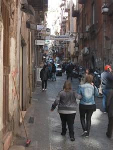 Gassen in Neapels Altstadt