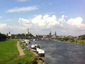 Panoramablick auf Dresden