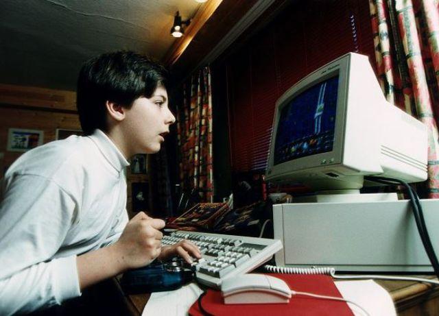 Aquel primer contacto con un ordenador personal.